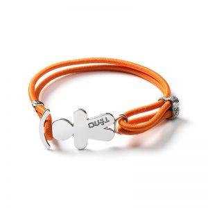 TINO Bracciale elastico arancio